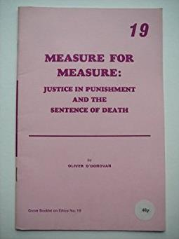 Measure for Measure (Grove booklets on ethics)