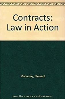 Contracts: Law in Action (Contemporary legal education series)