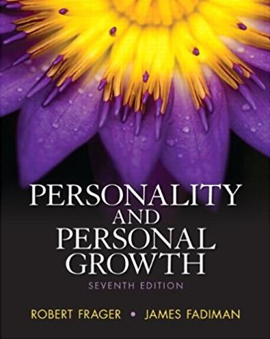 Personality classic theories and modern research 4th edition personality and personal growth 7th edition fandeluxe Images