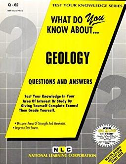 GEOLOGY (Test Your Knowledge Series) (Passbooks) (TEST YOUR KNOWLEDGE SERIES (Q))