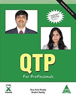 QTP for Professionals - Covers Version 9.2, 9.5 & 10