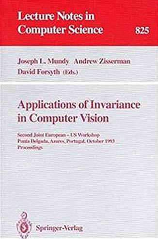 Applications of Invariance in Computer Vision: Second Joint European - US W ...