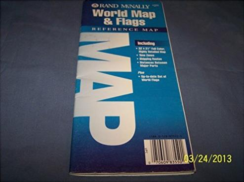 Rand McNally World Map & Flags: Reference Map