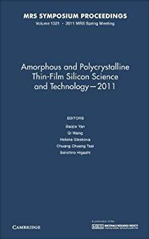 Amorphous and Polycrystalline Thin-Film Silicon Science and Technology - 20 ...
